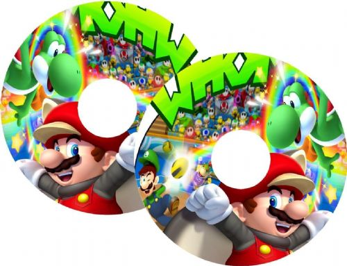 MARIO Wheelchair Spoke Guard Sticker Skins (13)